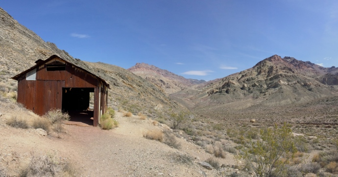 Leadfield Ghost Town, Titus Canyon