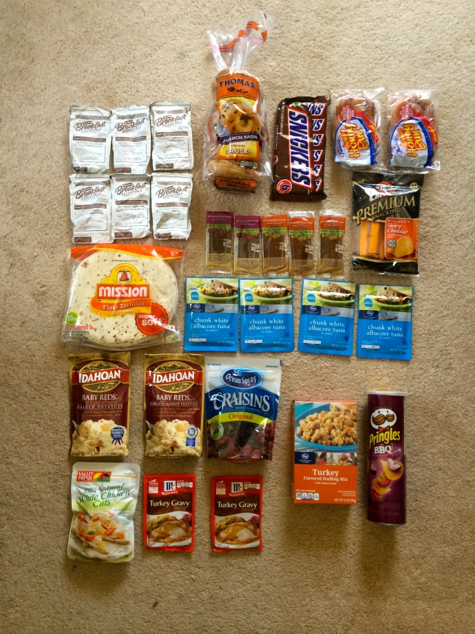 What 3 days of food looks like