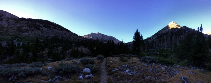 Early Morning on the trail