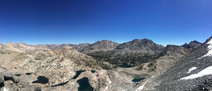 View from Glen Pass, 11, 978 feet